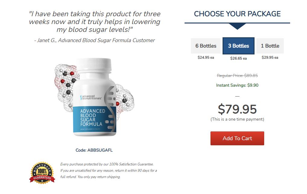 Advanced Blood Sugar Formula